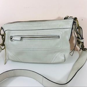 Coach Legacy off white convertible duffle